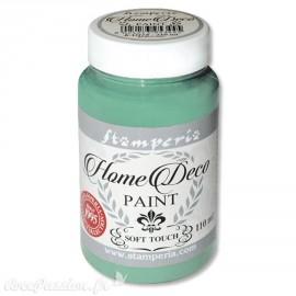 Peinture à la craie chalk paint vert arsenic