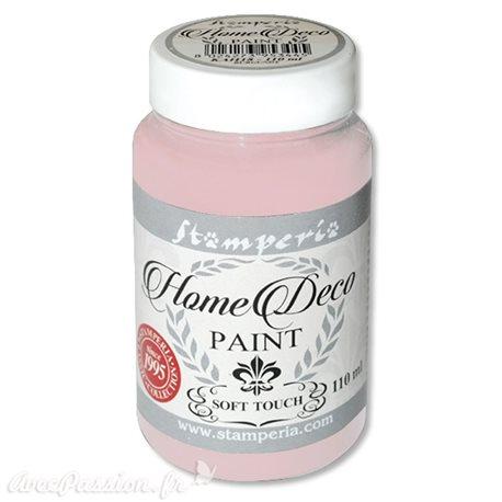 Peinture à la craie chalk paint rose poupée