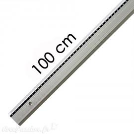 Règle plate en aluminium Artos 100cm