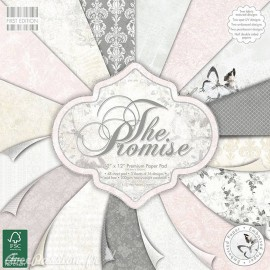 Papier scrapbooking assortiment the promise 48fe
