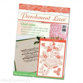 Parchment Lace magazine Pergamano 2016 spécial noël