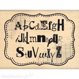 Tampon bois mon joli alphabet