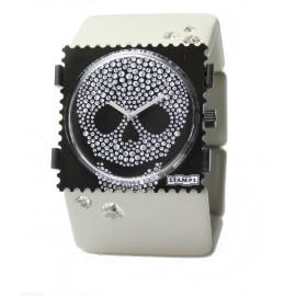 Bracelet élastique de montre Stamps belta beige diamond