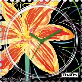 Montre Stamps cadran de montre sunny flowers