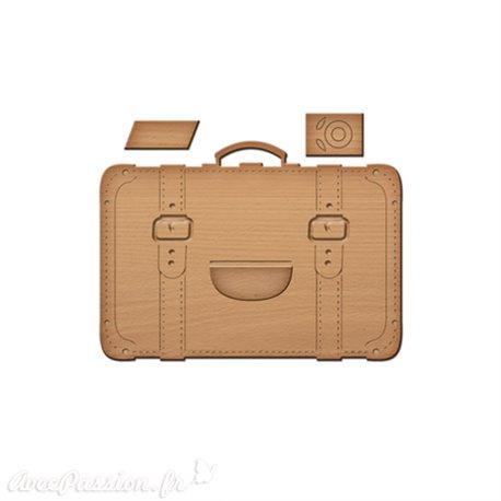 Dies découpe gaufrage bagages Spellbinders Shapeabilities