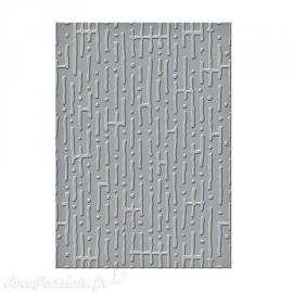 Classeur gaufrage labyrinthe Spellbinders Bossabilities