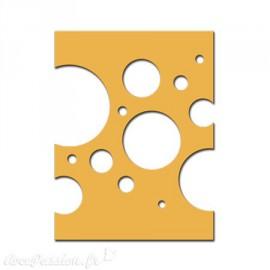 Dies découpe plaque confettis Spellbinders Nestabilities