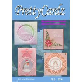 Pretty Cardz Gerti Hofman Lian Qualm modèles parchemin 2016 n09 + sapin de noël offert