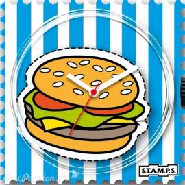 Cadran de montre Stamps hamburger