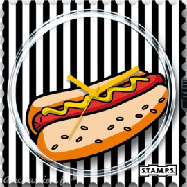 Cadran de montre Stamps hot dog