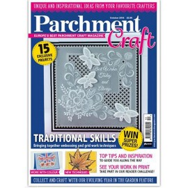 Parchment Craft magazine Pergamano octobre 2016 Traditional Skills
