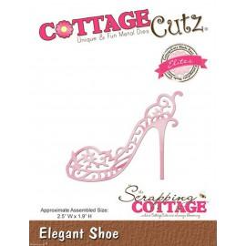 Dies découpe gaufrage matrice CottageCutz chaussure élégante