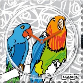 Cadran de montre Stamps popinjay