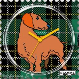 Cadran de montre Stamps scotch dog