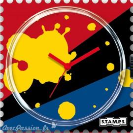 Cadran de montre Stamps splash