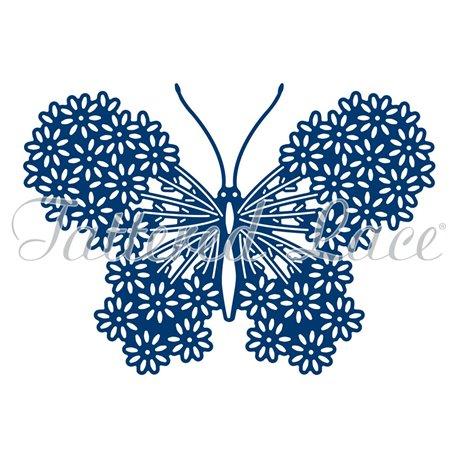 Dies découpe gaufrage papillon pétales de fleurs Tattered Lace