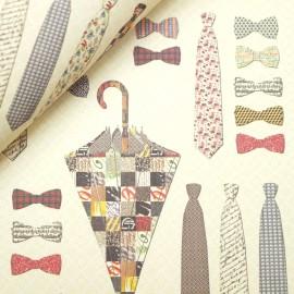 Papier tassotti motifs cravates et accessoires