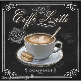 Carte d'art caffé latte Chad Barrett