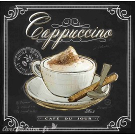 Carte d'art cappuccino Chad Barrett