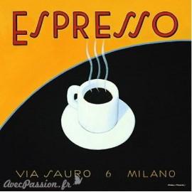 Carte d'art Expresso via sauro Marco Fabiano