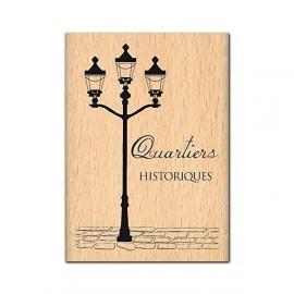 Tampon bois quartiers historiques