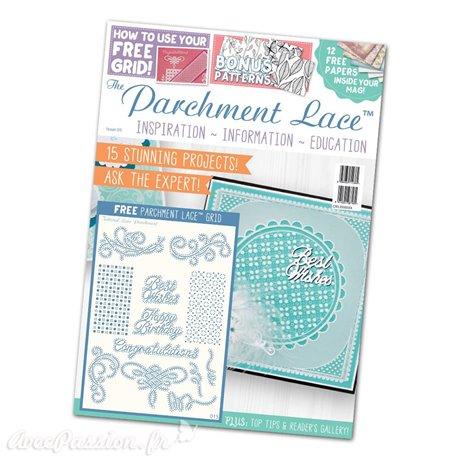Parchment Lace magazine Pergamano 2016 magazine n°5