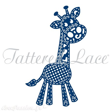 Dies découpe gaufrage girafe Tattered Lace