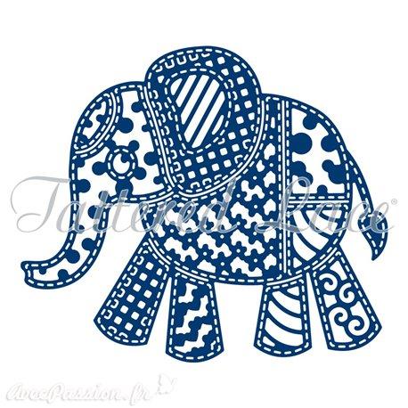 Dies découpe gaufrage éléphant Tattered Lace