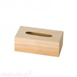 Boite à mouchoir bois