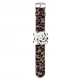 Bracelet de montre Stamps classic leo marron