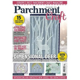 Parchment Craft magazine Pergamano novembre 2016 New Techniques