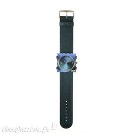 Bracelet de montre Stamps classic jack shadow bleu