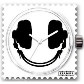 Montre Stamps cadran de montre smiling