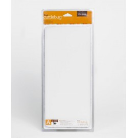 Plaque de coupe A longue Cuttlebug 1cm 15x33cm qu1