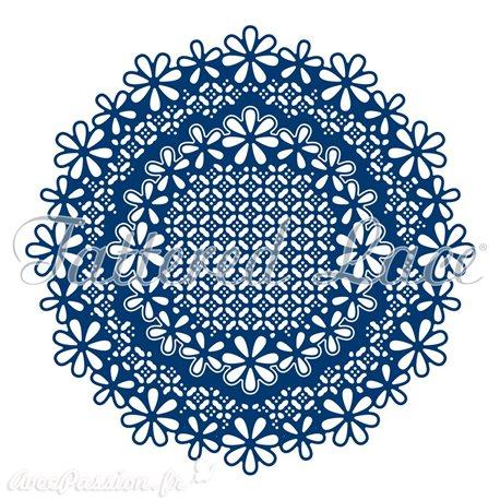 Dies découpe gaufrage cercles ornementés Tattered Lace