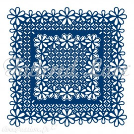 Dies découpe gaufrage carrés ornementés Tattered Lace