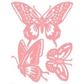Dies découpe trio papillon Cuttelbug