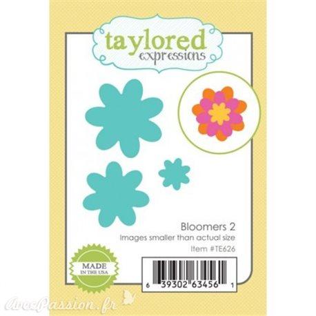 Dies découpe gaufrage petites fleurs 2 Taylored expressions