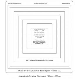 Gabarit easycut PCA coupe le papier parchemin