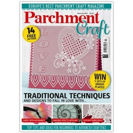 Parchment Craft magazine Pergamano février 2017 Traditional Techniques