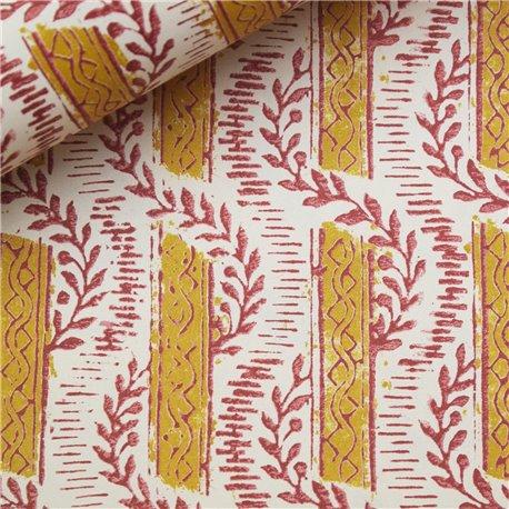 Papier tassotti à motifs frises et guirlandes
