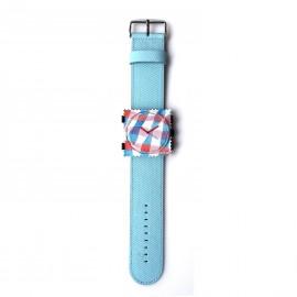 Montre Stamps bracelet de montre bleu ciel denim