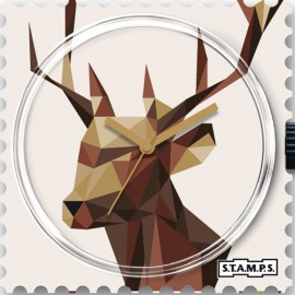 Montre Stamps cadran de montre new deer