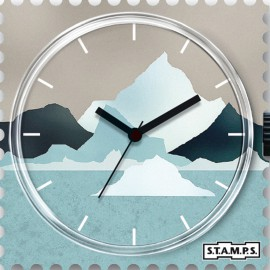 Montre Stamps cadran de montre iceberg