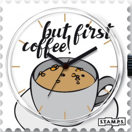 Montre Stamps cadran de montre first coffee