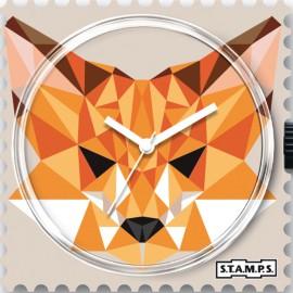 Montre Stamps cadran de montre foxy