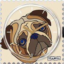 Montre Stamps cadran de montre mopsy