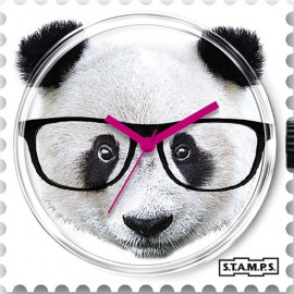 Montre Stamps cadran de montre mr panda
