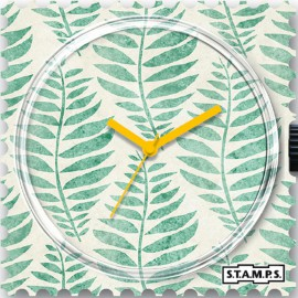 Montre Stamps cadran de montre fern
