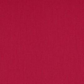 Papier simili toile balacron nomad rouge framboise